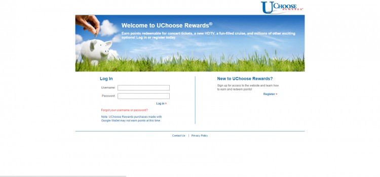 How to Register for UChoose Rewards
